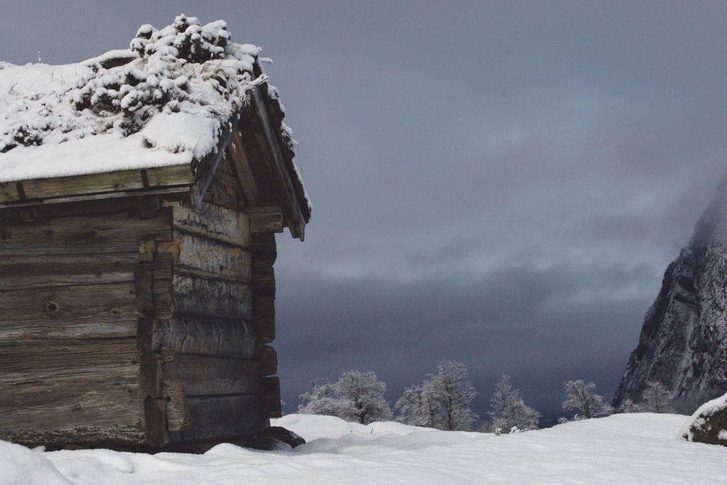 Høyløa på Rellingsetra 26. desember 2019. Foto: John Kåre Storås